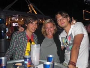 Jan, Iris und Marc