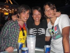 Jan, Isa und Marc