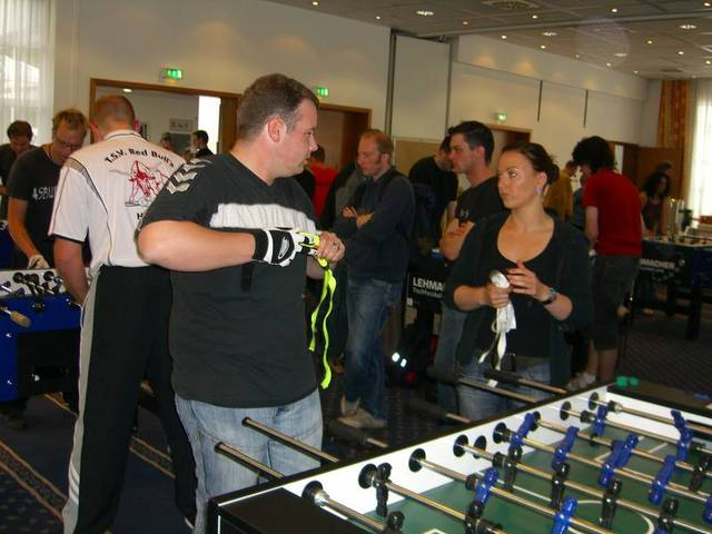Amateur-Doppel mit Marcel Wefers